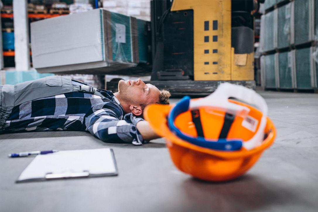 accidentes laborales que se producen por errores humanos